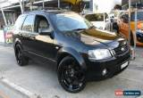 Classic 2005 Ford Territory SY TS (RWD) Black Automatic 4sp A Wagon for Sale