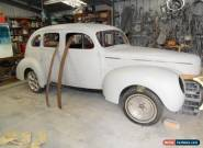 Hot Rod project 1940 Ford Delux sedan for Sale