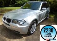 2008 BMW X3 2.0 20d M Sport 175 Auto 5dr Estate Diesel for Sale