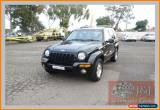Classic 2002 Jeep Cherokee KJ Limited (4x4) Black Automatic 4sp A Wagon for Sale