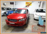 2003 Subaru Liberty MY04 2.0I Red Automatic 4sp A Wagon for Sale