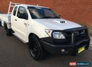 2009 Toyota Hilux KUN26R 09 Upgrade SR (4x4) White Manual 5sp M Extracab for Sale