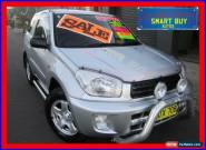 2002 Toyota RAV4 ACA20R Edge (4x4) Silver Automatic 4sp A Wagon for Sale