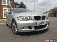 2006 BMW 1 SERIES 120D M SPORT DIESEL.2 KEYS -FULL SERVICE HISTORY-07506040209 for Sale