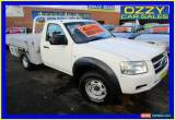 Classic 2007 Ford Ranger PJ XL (4x2) White Manual 5sp M Cab Chassis for Sale