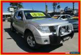 Classic 2007 Nissan Navara D40 ST-X Silver Manual 6sp M Utility for Sale
