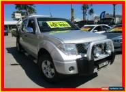 2007 Nissan Navara D40 ST-X Silver Manual 6sp M Utility for Sale