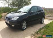 2005 FORD FOCUS ZETEC TDCI BLACK for Sale