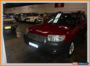 2006 Subaru Forester MY06 X Red Automatic 4sp A Wagon for Sale