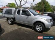 2010 Nissan Navara D40 RX (4x4) Silver Automatic 5sp A Kingcab for Sale