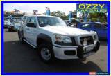 Classic 2008 Mazda BT-50 B3000 DX (4x4) White Manual 5sp M Cab Chassis for Sale