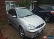 2002 FORD FOCUS ZETEC SILVER for Sale