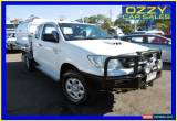 Classic 2010 Toyota Hilux KUN26R 09 Upgrade SR (4x4) White Manual 5sp M Extracab for Sale