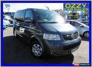 2008 Volkswagen Multivan T5 MY08 Comfortline 4Mtn Grey Manual 6sp M Van for Sale