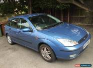 Ford Focus 1.6 Zetec 2003 2 Owners CAT C Repaired Blue Full Service History for Sale