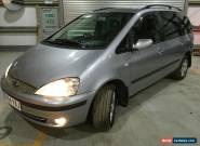 2004 FORD GALAXY GHIA TDI AUTO SILVER for Sale