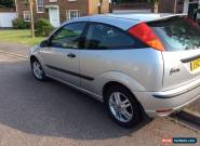 2003 FORD FOCUS ZETEC SILVER 3 DOOR VERY RELIABLE BARGAIN for Sale