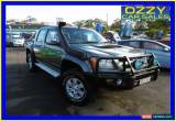 Classic 2009 Holden Colorado RC MY09 LT-R (4x4) Grey Manual 5sp M Crewcab for Sale