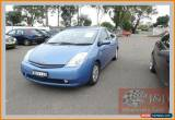 Classic 2007 Toyota Prius NHW20R MY06 Upgrade I-Tech Hybrid Blue Automatic A Hatchback for Sale