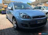 2007 FORD FIESTA ZETEC CLIMATE BLUE 1.4 5 door 57k Miles Facelift  2 Owners  for Sale