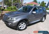 Classic 2004 BMW X5 E53 3.0I Grey Automatic 5sp A Wagon for Sale
