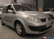 2005 Renault Scenic II J84 Expression Silver Manual 6sp M Hatchback for Sale