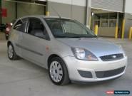 2007 Ford Fiesta WQ LX Moondust Silver Manual 5sp M Hatchback for Sale