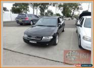 2000 Audi A4 MY99 1.8 Turbo Black Manual 5sp M Sedan for Sale