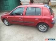 RENAULT CLIO 1.2 2005 for Sale