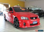 2009 Holden Ute VE MY09.5 SV6 Red Hot Manual 6sp M Utility for Sale