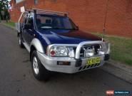 2004 Nissan Navara D22 ST-R (4x4) Blue Manual 5sp M Dual Cab Pick-up for Sale