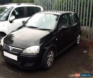 Classic 2004 VAUXHALL CORSA DESIGN 16V BLACK spares or repair engine blown  for Sale