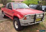 Classic ford courier,1989 extra cab 4x4 ,petrol carburettor, 5sp manual for Sale
