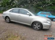 2003 TOYOTA AVENSIS T3-X D-4D SILVER FOR SPARES OR REPAIR for Sale