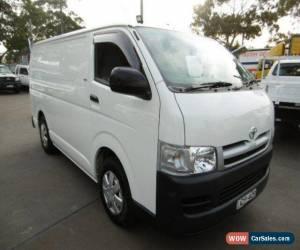 Classic 2006 Toyota Hiace TRH201R LWB White Automatic 4sp A Van for Sale
