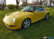 1997 Porsche 911 carrera c4s for Sale