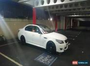 2008 BMW 520D M5 LOOKALIKE AUTO WHITE for Sale