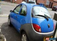 2003 Blue Ford Ka, MOT 7/8/16, spare or repair, faulty head gasket  for Sale
