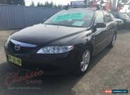 2004 Mazda 6 GG Classic Black Automatic 4sp A Sedan for Sale