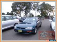 1995 Toyota Camry SDV10 CSi Green Automatic 4sp A Sedan for Sale