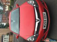 2009 VAUXHALL ASTRA DESIGN CDTI 8V RED for Sale