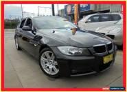 2007 BMW 320i E90 Black Automatic 6sp A Sedan for Sale