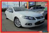 Classic 2012 Ford Falcon FG MkII G6 White Automatic A Sedan for Sale