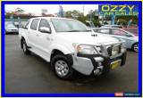 Classic 2007 Toyota Hilux KUN26R 07 Upgrade SR5 (4x4) White Automatic 4sp A for Sale