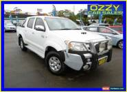 2007 Toyota Hilux KUN26R 07 Upgrade SR5 (4x4) White Automatic 4sp A for Sale