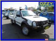 2007 Holden Rodeo RA MY08 LX (4x4) White Manual 5sp M Cab Chassis for Sale
