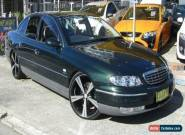2000 Holden Statesman WH V8 Green Automatic 4sp A Sedan for Sale