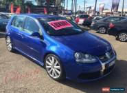 2008 Volkswagen Golf 1K MY08 Upgrade R32 Blue Automatic 6sp A Hatchback for Sale