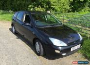 2001 1.6 Ford Focus - Black - Petrol  for Sale