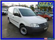 2005 Volkswagen Caddy 2K 1.9 TDI White Manual 5sp M Van for Sale